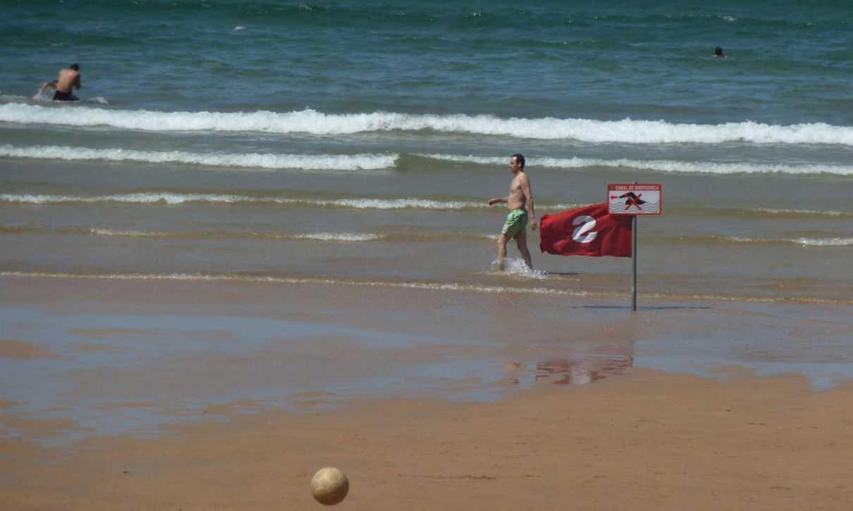 Significado de las banderas en las playas