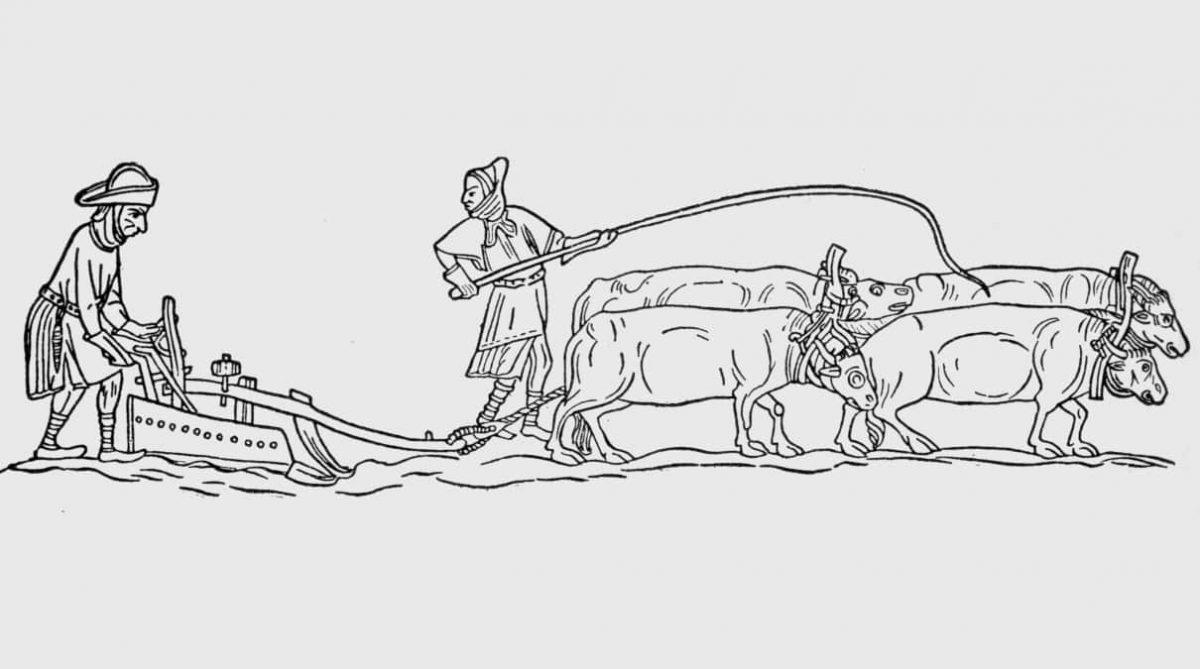 Los campesinos en la Edad Media